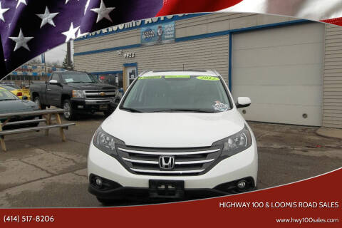 2012 Honda CR-V for sale at Highway 100 & Loomis Road Sales in Franklin WI