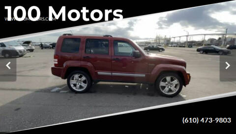 2012 Jeep Liberty for sale at 100 Motors in Bechtelsville PA