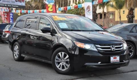 2014 Honda Odyssey for sale at AMC Auto Sales Inc in San Jose CA