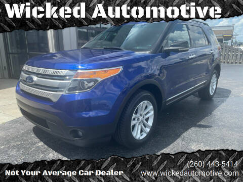 2013 Ford Explorer for sale at Wicked Automotive in Fort Wayne IN