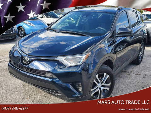 2018 Toyota RAV4 for sale at Mars auto trade llc in Kissimmee FL