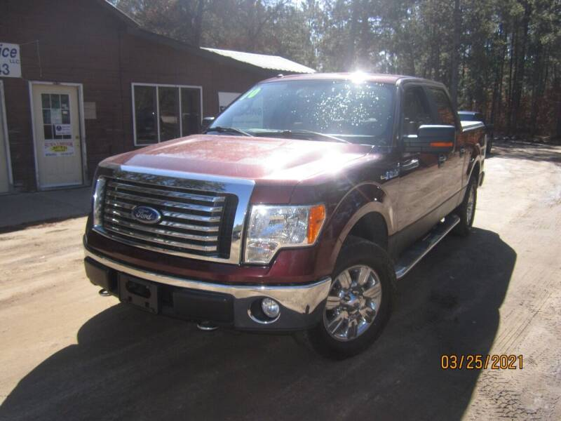 2010 Ford F-150 for sale at SUNNYBROOK USED CARS in Menahga MN
