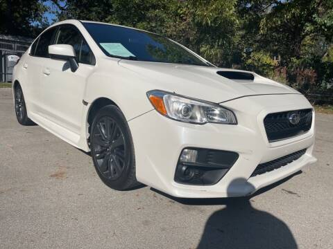 2017 Subaru WRX for sale at Thornhill Motor Company in Lake Worth TX