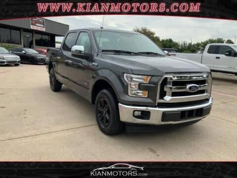 2017 Ford F-150 for sale at KIAN MOTORS INC in Denton TX
