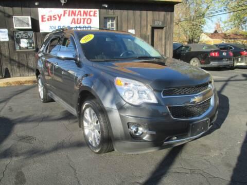 2011 Chevrolet Equinox for sale at EZ Finance Auto in Calumet City IL