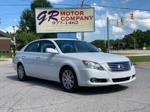 2009 Toyota Avalon for sale at GR Motor Company in Garner NC