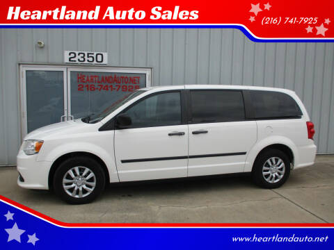2013 Dodge Grand Caravan for sale at Heartland Auto Sales in Medina OH