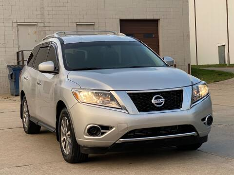 2014 Nissan Pathfinder for sale at MILANA MOTORS in Omaha NE