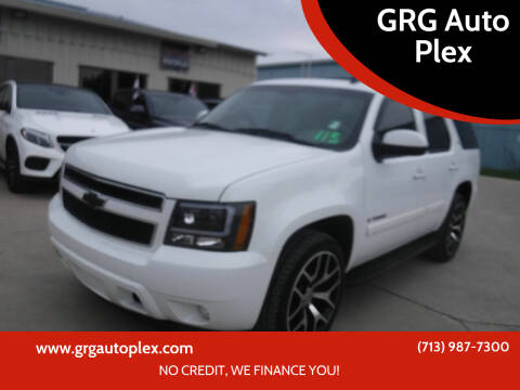 2009 Chevrolet Tahoe for sale at GRG Auto Plex in Houston TX