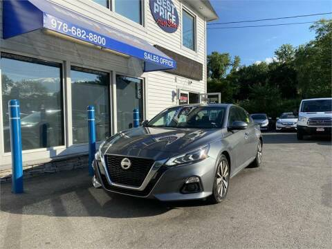 2019 Nissan Altima for sale at Best Price Auto Sales in Methuen MA
