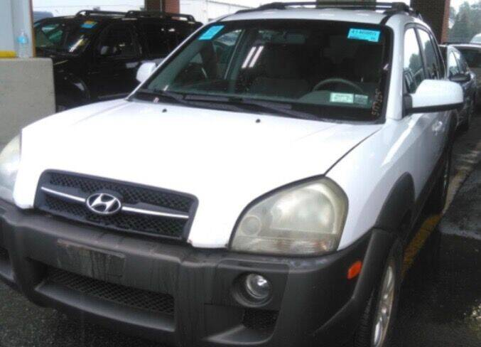 2007 Hyundai Tucson for sale at GDT AUTOMOTIVE LLC in Hopewell NY
