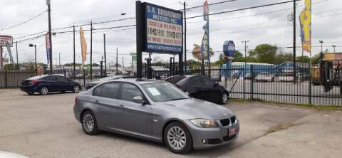 2009 BMW 3 Series for sale at S.A. BROADWAY MOTORS INC in San Antonio TX