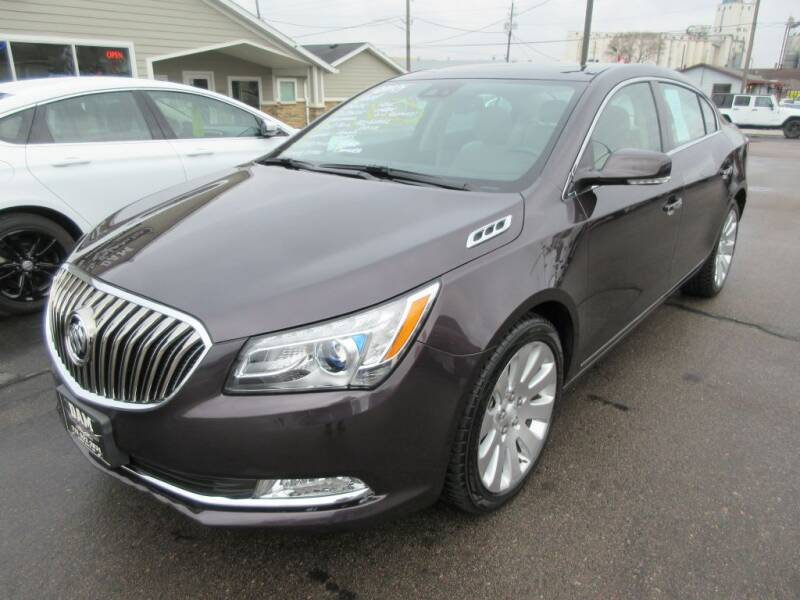 2014 Buick LaCrosse for sale at Dam Auto Sales in Sioux City IA