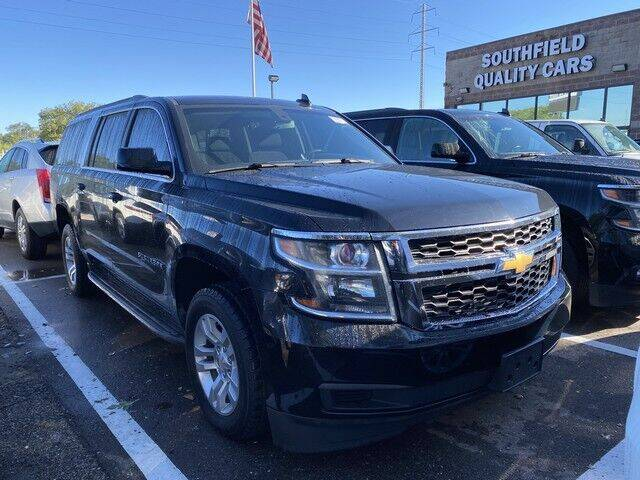2016 Chevrolet Suburban for sale at SOUTHFIELD QUALITY CARS in Detroit MI
