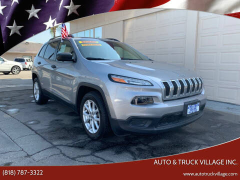 2017 Jeep Cherokee for sale at Auto & Truck Village Inc. in Van Nuys CA