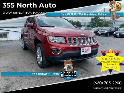 2015 Jeep Compass for sale at 355 North Auto in Lombard IL