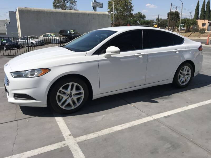 2016 Ford Fusion for sale at Quality Car Sales in Whittier CA