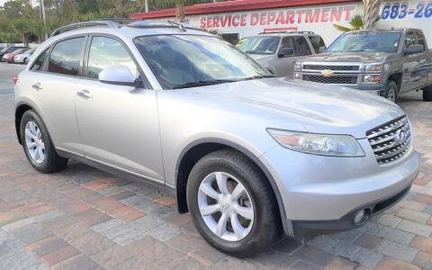 2004 Infiniti FX35 for sale at Affordable Auto Motors in Jacksonville FL