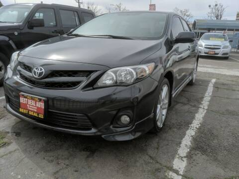 2013 Toyota Corolla for sale at Best Deal Auto Sales in Stockton CA