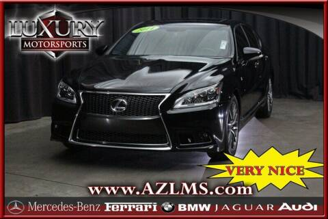 2014 Lexus LS 460 for sale at Luxury Motorsports in Phoenix AZ