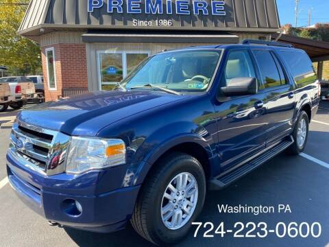 2012 Ford Expedition EL for sale at Premiere Auto Sales in Washington PA