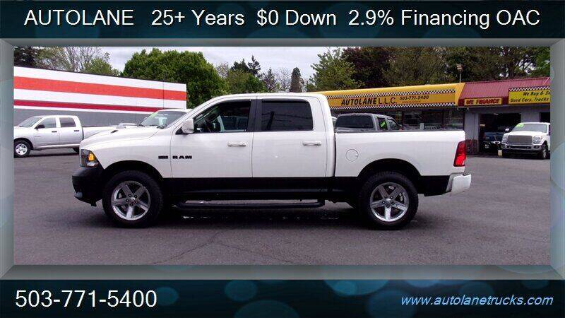 2009 Dodge Ram Pickup 1500 for sale at Auto Lane in Portland OR