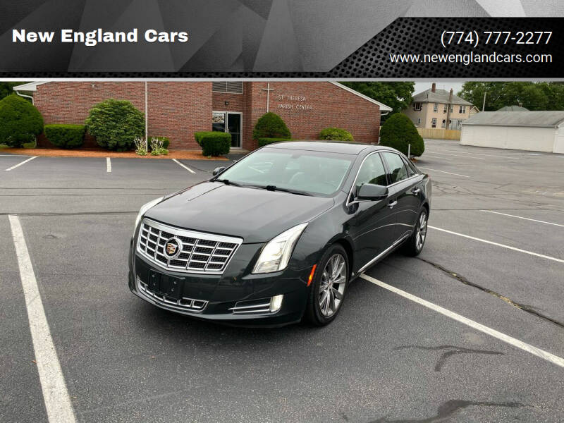 2013 Cadillac XTS for sale at New England Cars in Attleboro MA