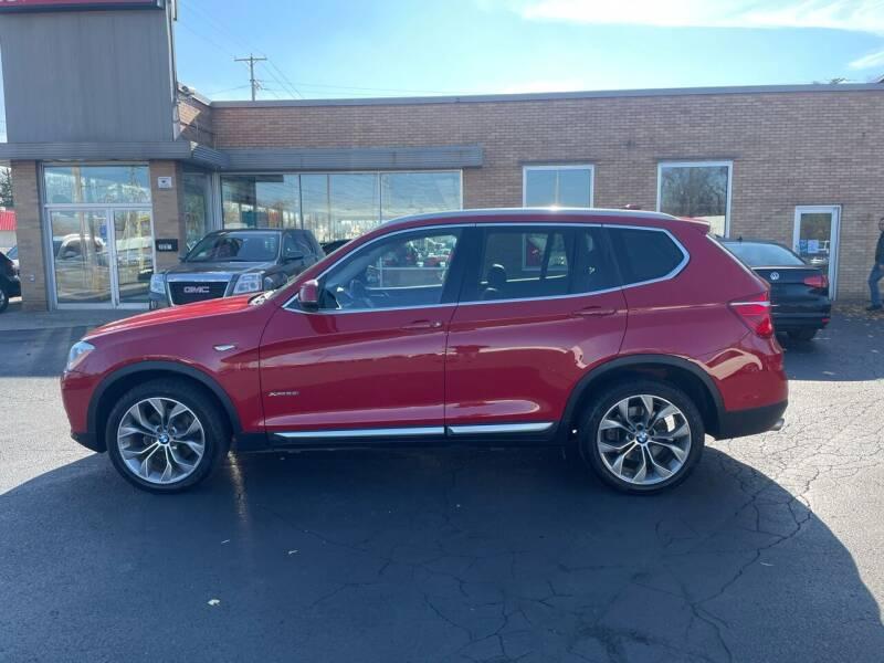 2015 BMW X3 for sale at Auto Sport INC in Grand Rapids MI