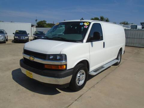 2020 Chevrolet Express Cargo for sale at BAS MOTORS in Houston TX