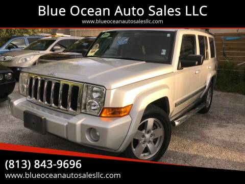 2008 Jeep Commander for sale at Blue Ocean Auto Sales LLC in Tampa FL