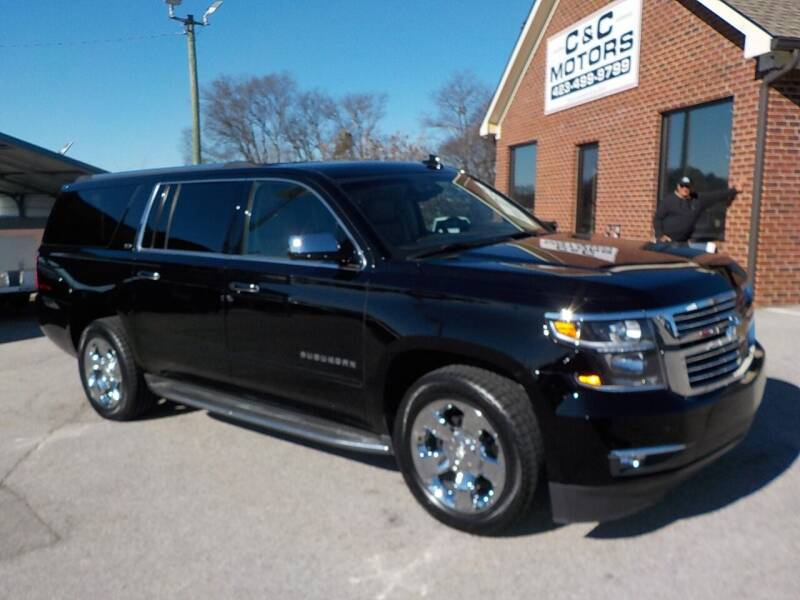 2015 Chevrolet Suburban for sale at C & C MOTORS in Chattanooga TN