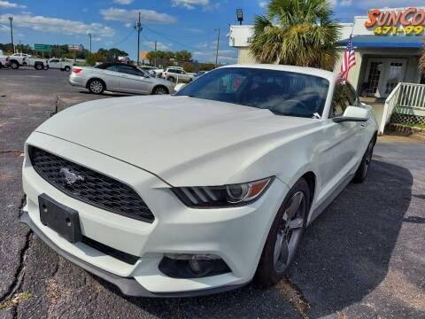 2017 Ford Mustang for sale at Sun Coast City Auto Sales in Mobile AL