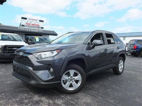 2019 Toyota RAV4 for sale at Automotive Credit Union Services in West Palm Beach FL
