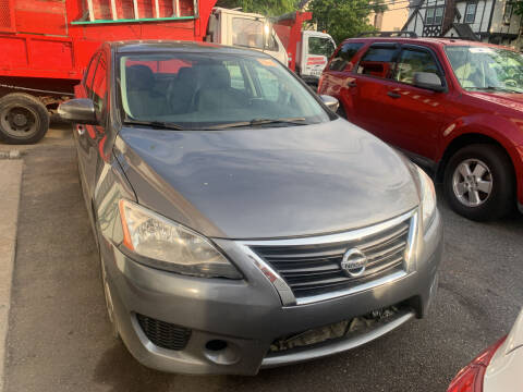 2015 Nissan Sentra for sale at Gondal Motors in West Hempstead NY