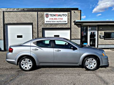 2013 Dodge Avenger for sale at Ten 11 Auto LLC in Dilworth MN