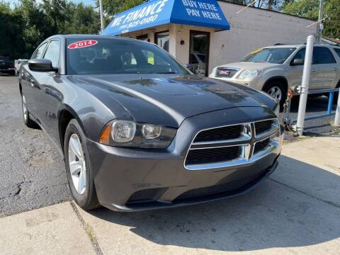 2014 Dodge Charger for sale at Great Lakes Auto House in Midlothian IL