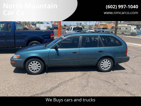 1995 Toyota Corolla for sale at North Mountain Car Co in Phoenix AZ