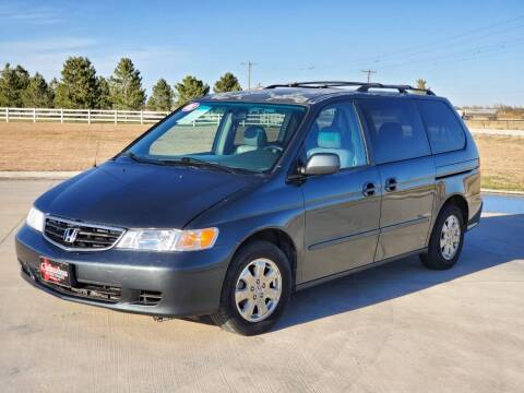 2003 Honda Odyssey for sale at Chihuahua Auto Sales in Perryton TX