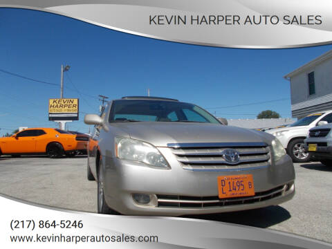 2006 Toyota Avalon for sale at Kevin Harper Auto Sales in Mount Zion IL