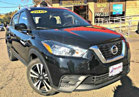 2019 Nissan Kicks for sale at PAYLESS CAR SALES of South Amboy in South Amboy NJ
