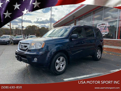 2011 Honda Pilot for sale at USA Motor Sport inc in Marlborough MA
