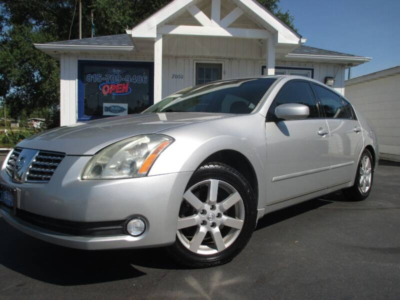 2006 Nissan Maxima for sale at Blue Arrow Motors in Coal City IL
