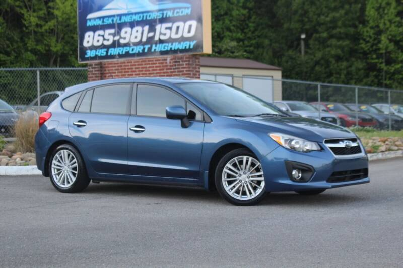 2012 Subaru Impreza for sale at Skyline Motors in Louisville TN