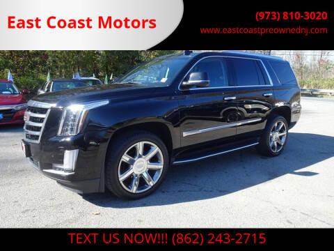2017 Cadillac Escalade for sale at East Coast Motors in Lake Hopatcong NJ