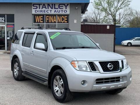 2012 Nissan Pathfinder for sale at Stanley Automotive Finance Enterprise - STANLEY DIRECT AUTO in Mesquite TX