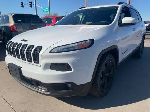2018 Jeep Cherokee for sale at Town and Country Motors in Mesa AZ