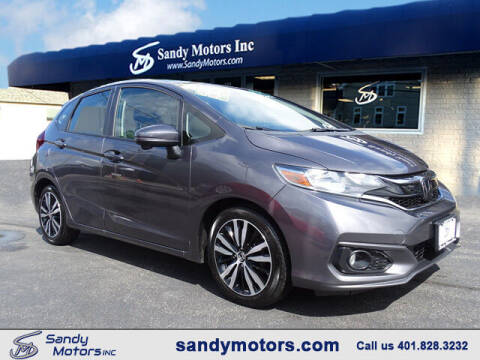 2018 Honda Fit for sale at Sandy Motors Inc in Coventry RI