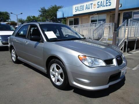 2007 Subaru Impreza for sale at Salem Auto Sales in Sacramento CA