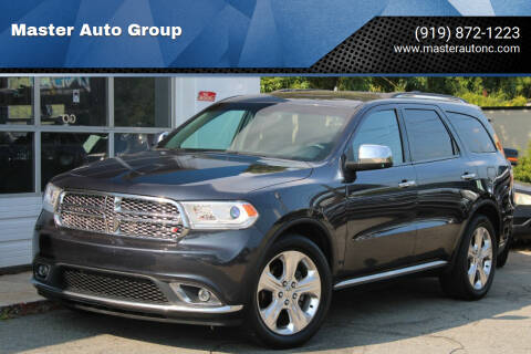 2014 Dodge Durango for sale at Master Auto Group in Raleigh NC