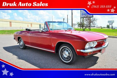 1968 Chevrolet Corvair for sale at Druk Auto Sales in Ramsey MN